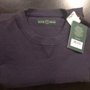 Men's sweatshirt, XL. Navy